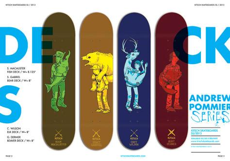 Page 2 - SPRING/SUMMER 2013 Kitsch Skateboard