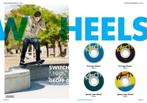 Page 6 - SPRING/SUMMER 2013 Kitsch Skateboard